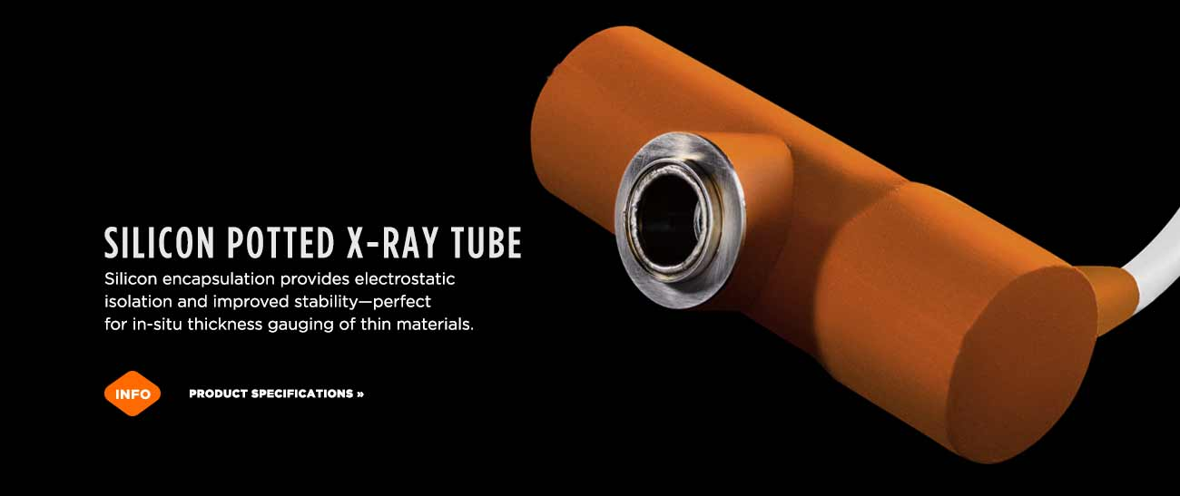 Silicon encapsulated X-ray tube line in Santa Cruz, California
